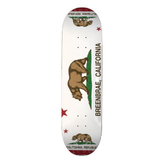 Kalifornien-Flagge breenbrae Flagge Skateboarddeck