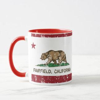 Kalifornien-Flagge Fairfield beunruhigt Tasse