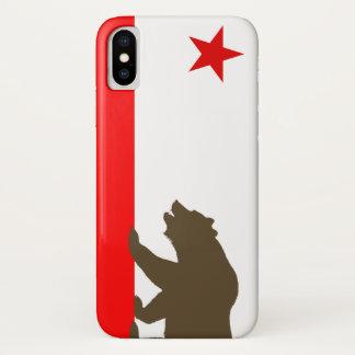 Kalifornien-Flagge inspirierter iPhone Fall iPhone X Hülle