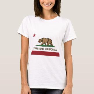 Kalifornien-Flagge Karlsbad T-Shirt