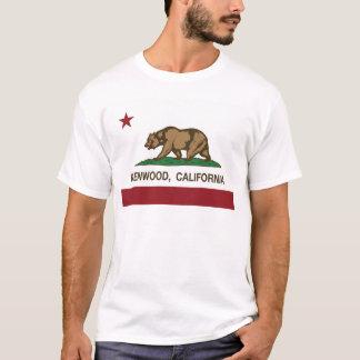 Kalifornien-Flagge kenwood T-Shirt