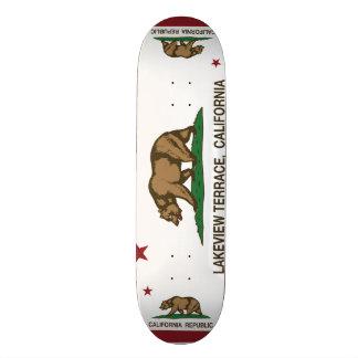 Kalifornien-Flagge lakeview Terrasse Personalisierte Skatedecks