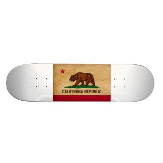 Kalifornien-Flagge Skateboardbrett