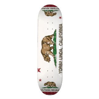 Kalifornien-Flagge Yorba Linda Skateboarddecks