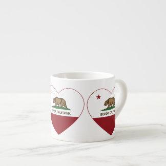 Kalifornien-Flaggen-Bischof Espressotasse