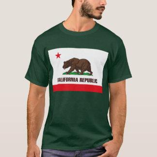 Kalifornien-Flaggen-T - Shirt