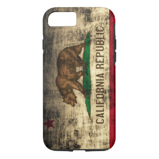Kalifornien-FlaggeVibe iPhone 7 Fall iPhone 8/7 Hülle