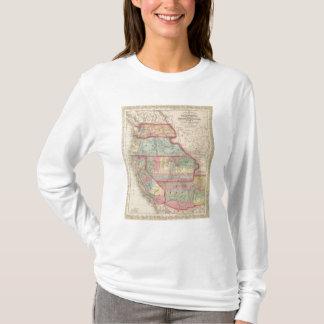 Kalifornien, Gebiete von Oregon, Washington T-Shirt