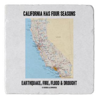 Kalifornien hat das vier töpfeuntersetzer