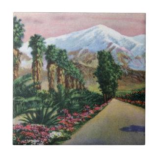 Kalifornien in der Mitte des Winters Keramikfliese