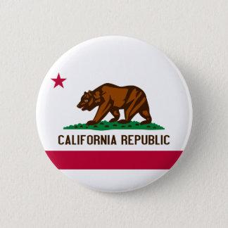 Kalifornien-Knopf Runder Button 5,7 Cm