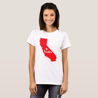 Kalifornien-Lehrer-T-Shirt T-Shirt