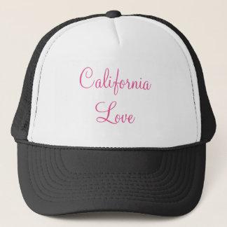 Kalifornien-Liebe-Fernlastfahrer-Hut Truckerkappe