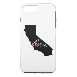 Kalifornien-Liebe! Geschenke für CA-Liebhaber iPhone 8 Plus/7 Plus Hülle