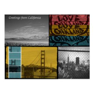 Kalifornien-Liebe! Postkarte