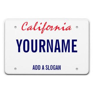 Kalifornien-Lizenz-Platte (personalisiert) Magnet