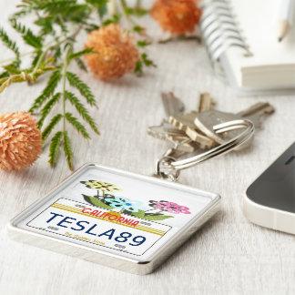 Kalifornien-Lizenz Schlüsselanhänger