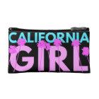 Kalifornien-Mädchen Makeup-Tasche