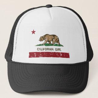 Kalifornien-Mädchen Truckerkappe