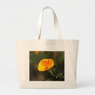 Kalifornien-Mohnblume (Eschscholzia californica) Jumbo Stoffbeutel