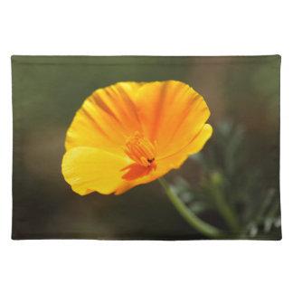 Kalifornien-Mohnblume (Eschscholzia californica) Tischset