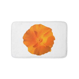 Kalifornien-Mohnblumen-Blume. eschscholzia Badematten