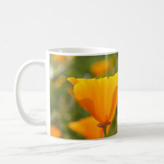Kalifornien-Mohnblumen-Feld Kaffeetasse