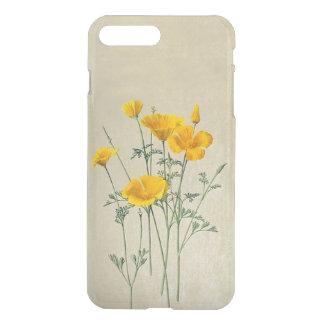 Kalifornien-Mohnblumen iPhone X/8/7 plus klaren iPhone 8 Plus/7 Plus Hülle