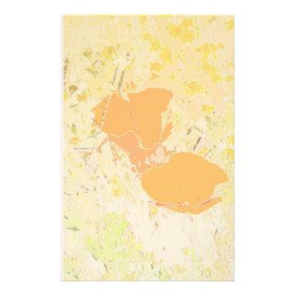 Kalifornien-Mohnblumen-Kunst-Briefpapier Briefpapier