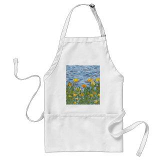 Kalifornien-Mohnblumen Schürze