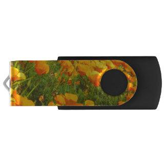 Kalifornien-Mohnblumen USB Stick