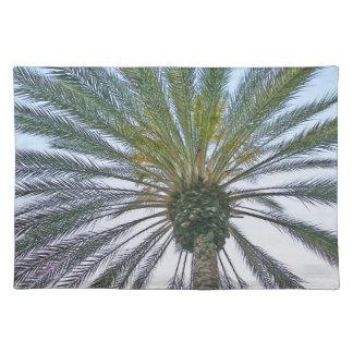 Kalifornien-Palme Stofftischset