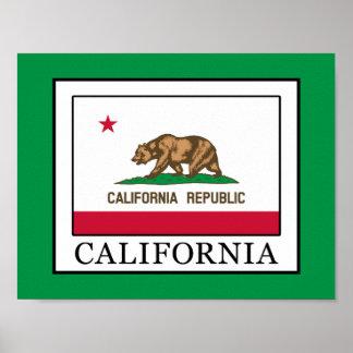 Kalifornien Poster