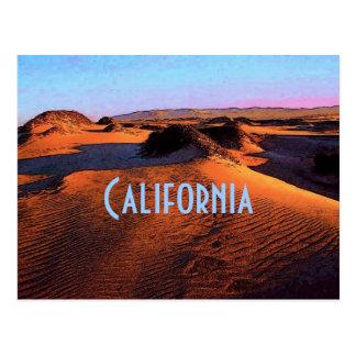 Kalifornien-Postkarte Postkarte
