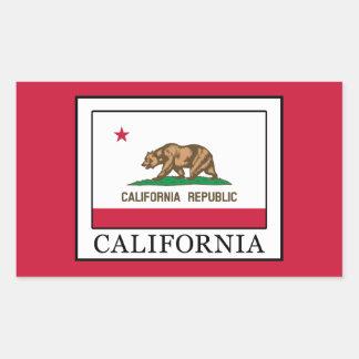 Kalifornien Rechteckiger Aufkleber