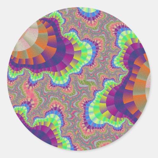 kalifornien regenbogen gang kleine runde aufkleber zazzle. Black Bedroom Furniture Sets. Home Design Ideas