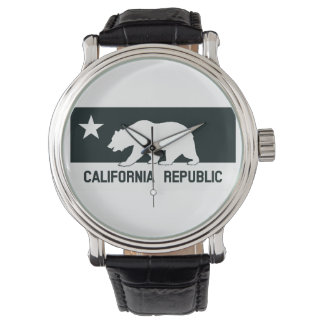 Kalifornien-Republik Armbanduhr