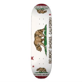 Kalifornien-Republik-Bärn-Flaggen-Belmont-Ufer Bedruckte Skateboarddecks