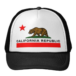 Kalifornien-Republik Baseballkappen