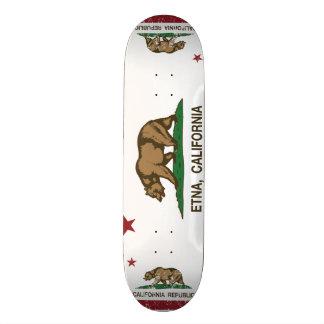 Kalifornien-Republik-Flagge Ätna Individuelle Skateboards
