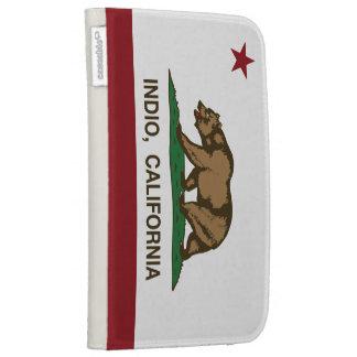 Kalifornien-Republik-Flagge Indio
