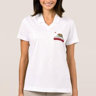 Kalifornien-Republik-Flagge Rancho Santa Fe Polo Shirt