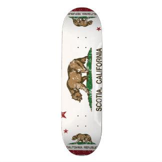 Kalifornien-Republik-Flagge Scotia Individuelles Skateboard