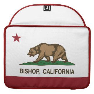 Kalifornien-Republik-Flaggen-Bischof MacBook Pro Sleeves