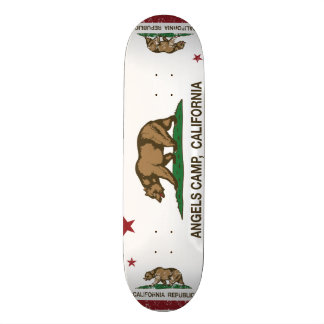 Kalifornien-Republik-Flaggen-Engels-Lager Bedruckte Skateboarddecks