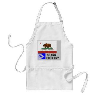 Kalifornien-Republik: Haifisch-Land Schürze