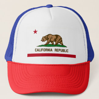 KALIFORNIEN-REPUBLIK-HUT TRUCKERKAPPE