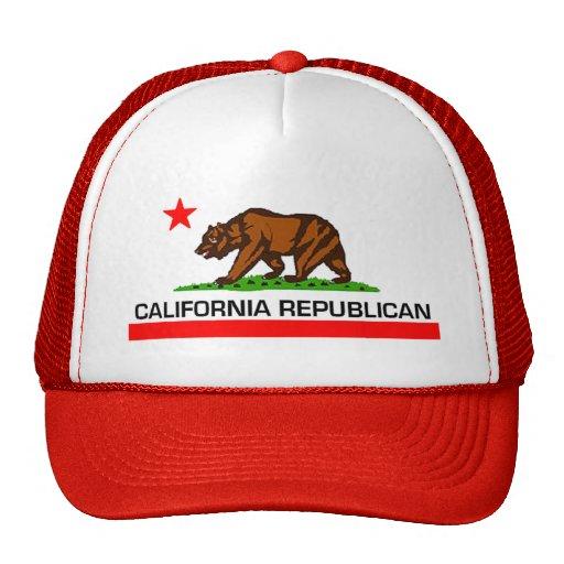 Kalifornien-Republikaner-Hut 2010 Retrokultmütze