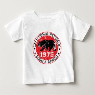 Kalifornien-Republikgeborenes angehoben 1970 Baby T-shirt