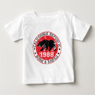 Kalifornien-Republikgeborenes angehoben 1980 Baby T-shirt